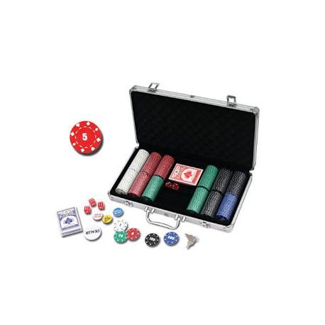 Mallette Poker 300 carré d'as 11.5 gr