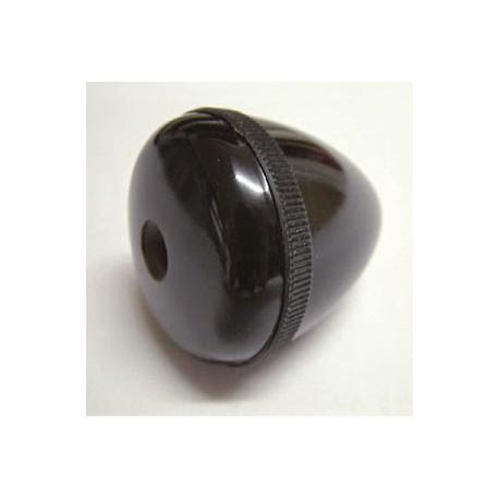 Poignée ronde noire baby-foot Bonzini