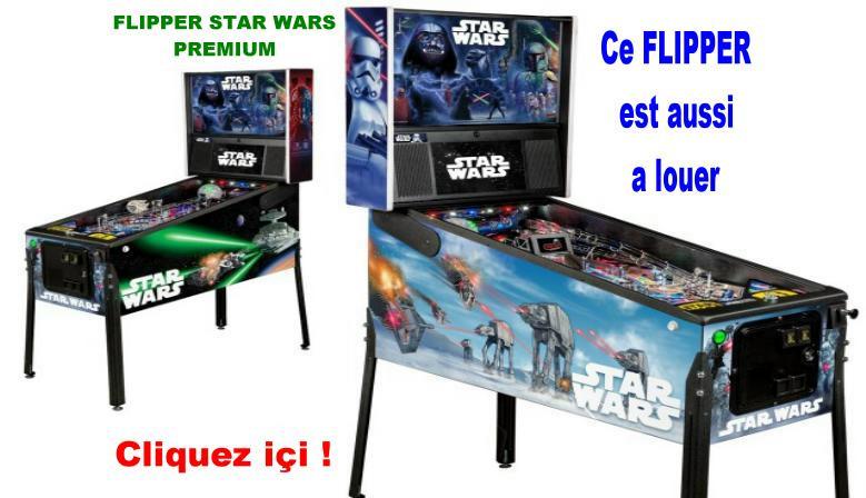Flipper Star Wars Premium de chez STERN
