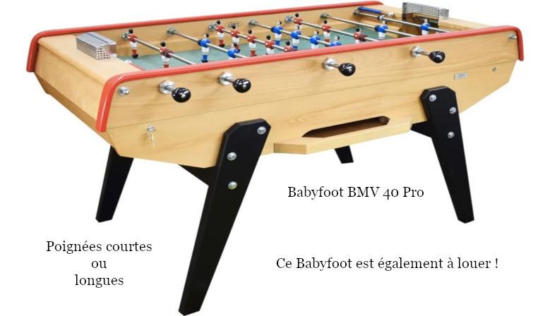 Babyfoot BMV PRO